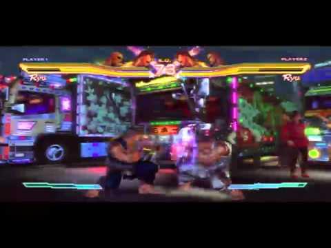 Capcom Comic Con Live Stream - Street Fighter X Tekken Gameplay