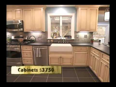 kitchen cabinets rta cow tuscany before and after video youtube