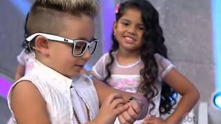 "MC BENI canta Sonhar ""MC GUI"" (Parte1) - Programa Raul Gil SBT 27/12/2014"