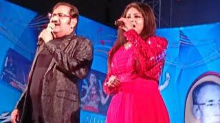 SANHATI  SUDESH BHOSLE DUET LIVE -- JAANE JAAN DHUNDTA FIR RAHA
