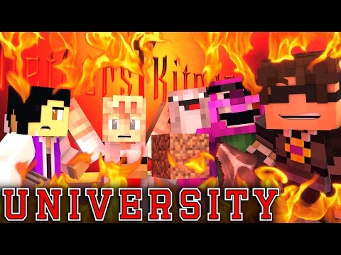 "MINECRAFT UNIVERSITY! - ""NETHERS KITCHEN CULINARY"" #4 (Minecraft Roleplay)"