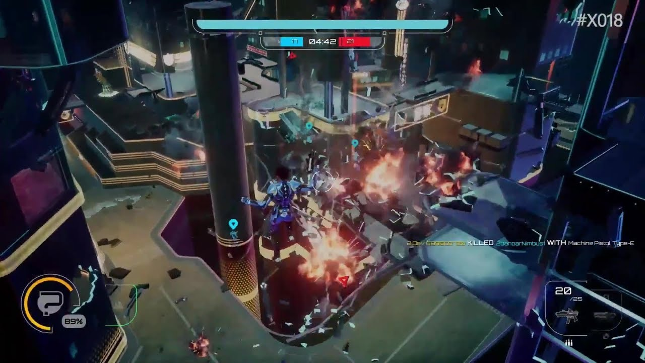 Crackdown 3 Multiplayer Destruction Gameplay 2 Mins Wrecking Zone 1080p Hd Youtube