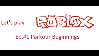 Let's play Roblox. Episode #1: The Jay Ninja