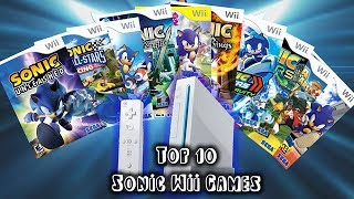 Sonic Wii Games! Top Ten Countdown