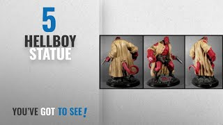 Top 10 Hellboy Statue [2018]: Hellboy Resin Statue Electric Tiki Design