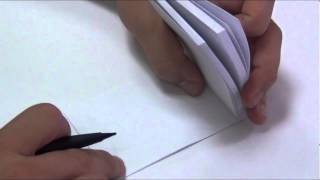 Como desenhar no flipbook