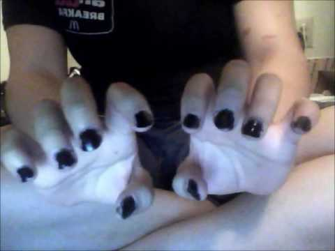 06: REQUESTED VIDEO. Painting Nails, Rubbing Nails With Oil And Whispering.
