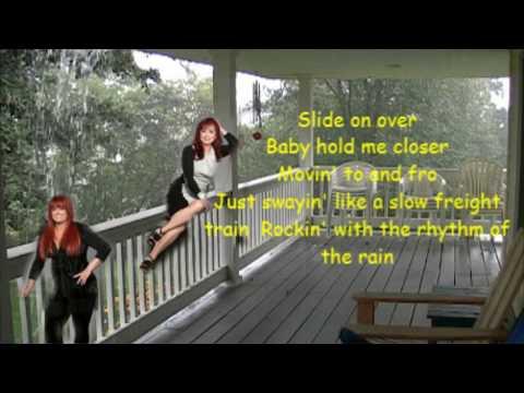 Rockin' with the rhythm of the rain The Judds with Lyrics.