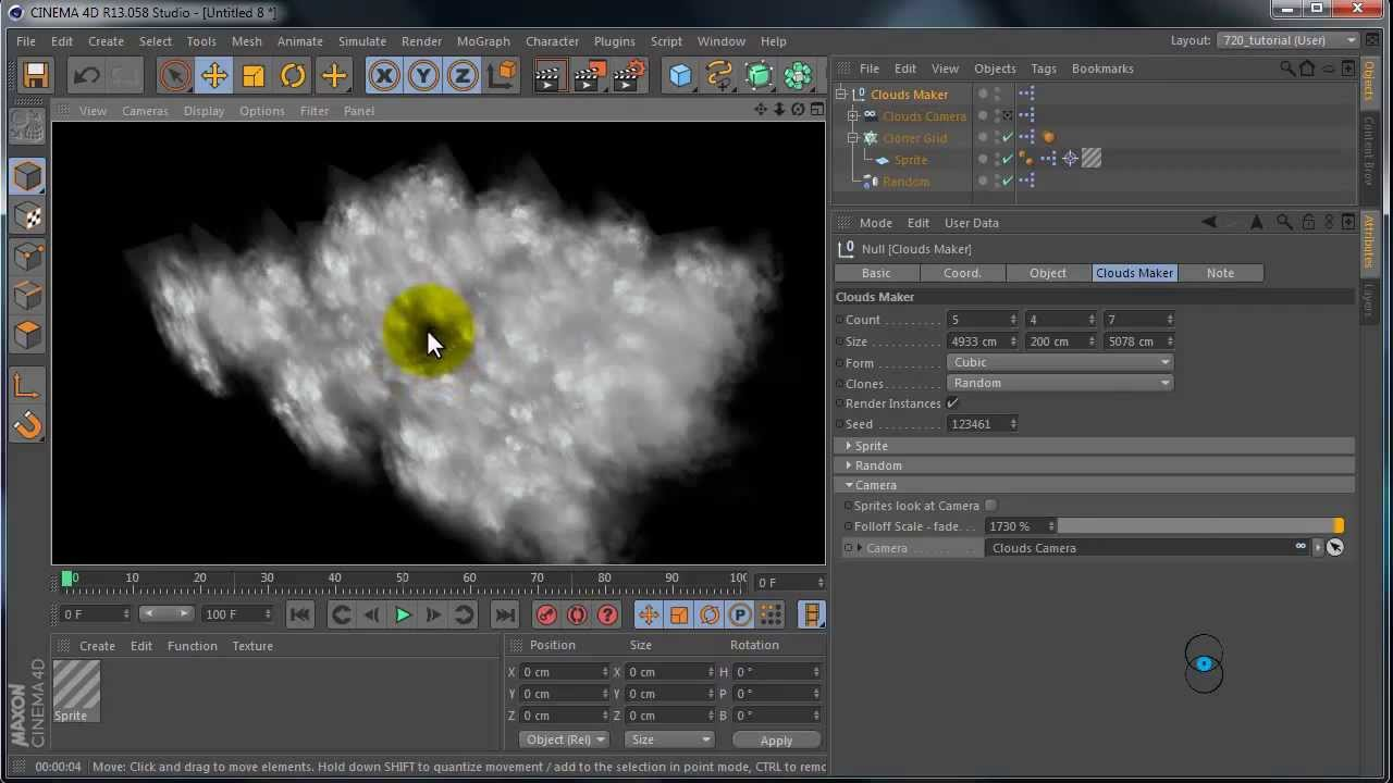 Cinema 4D: Preset Cloud Maker | Web Two Club