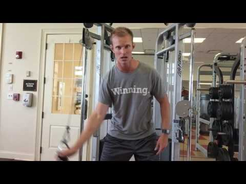 Engage the muscles properly for your golf swing