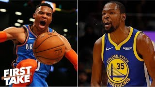 Thunder 'pose zero threat' to the Warriors - Max Kellerman | First Take