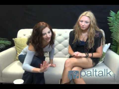 Paltalk Chat: Diana Falzone & Pop Singer Alina Smith.8.16.11