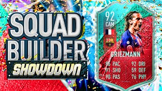 FIFA 20 Squad Builder Showdown on FUT Birthday Griezmann!! IT'S ALL IN FRENCH!?!?