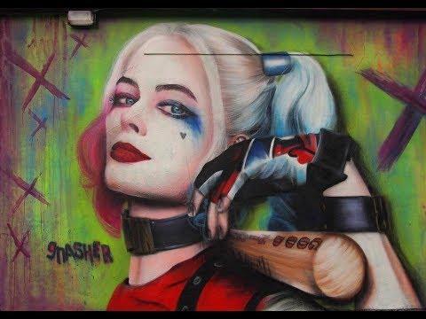 Gnasher Murals 2017
