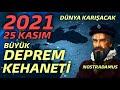 Gambar cover 2021 DEPREM KEHANETLERİ - 25 KASIM Dünya ve Türkiye 2021 Kehanetleri