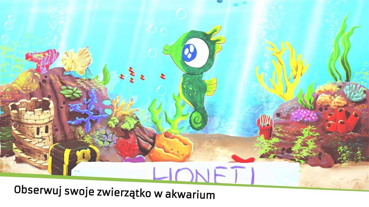 Interactive coloring book (aquarium) - YouTube