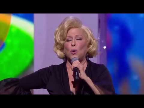 Bette Midler 2014 Royal Variety Performance UK