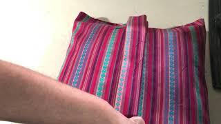 Cómo Hacer Fundas De Cojín Sin Cremallera Fácil Y Rápido     -how To Make Pillow