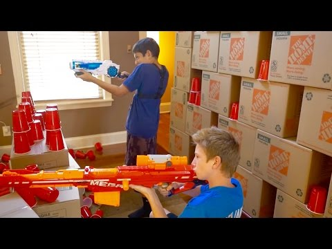Thumbnail: Nerf War: House of Cups 3
