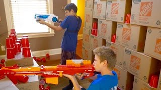 Nerf War: House of Cups 3
