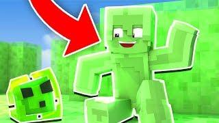 GÖRÜNMEYEN SLİME OLDUM! - Minecraft SAKLAMBAÇ