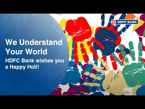 HDFC Bank wishes you a Happy Holi!
