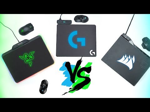 Comparison! Razer HyperFlux vs Logitech Powerplay vs Corsair MM1000 & Dark Core