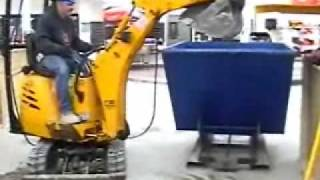 Construction Equipment:  Excavation with IHI 9nx 2 & CB Electric Excavator