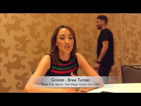SDCC 2016 Interview with Grimm's Bree Turner