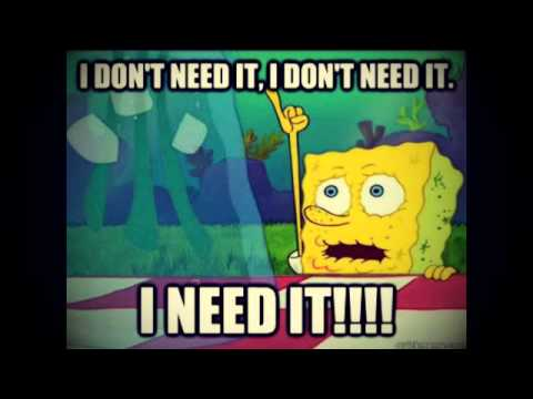 I NEED IT!!!! {Spongebob Rap/Hip Hop Beat} - Jackson Beatz