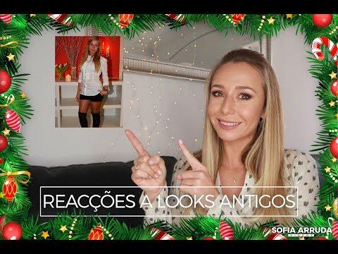 #15 - Reacções a Looks Antigos! | Sofia Arruda