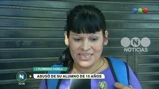 Abusó de su alumno de 15 años - Telefe Noticias