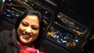 Richa Sharma | At the top of #burjkhalifa #dubai 124th floor fun time