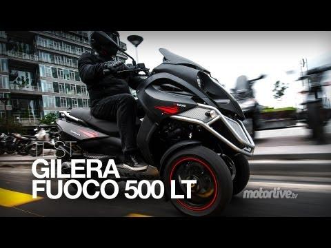 TEST   GILERA MP3 FUOCO 500 LT