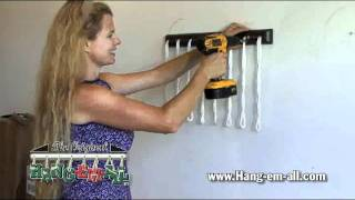 Hang-em-all Tool & Toy Hangers