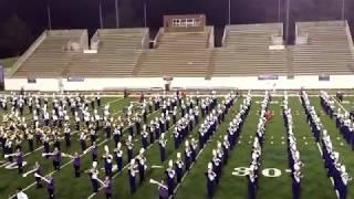 James Madison University Royal Dukes Marching Band Exhibition