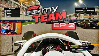 NUEVO MODO CARRERA DE F1 2020 MYTEAM (EPISODIO 2)