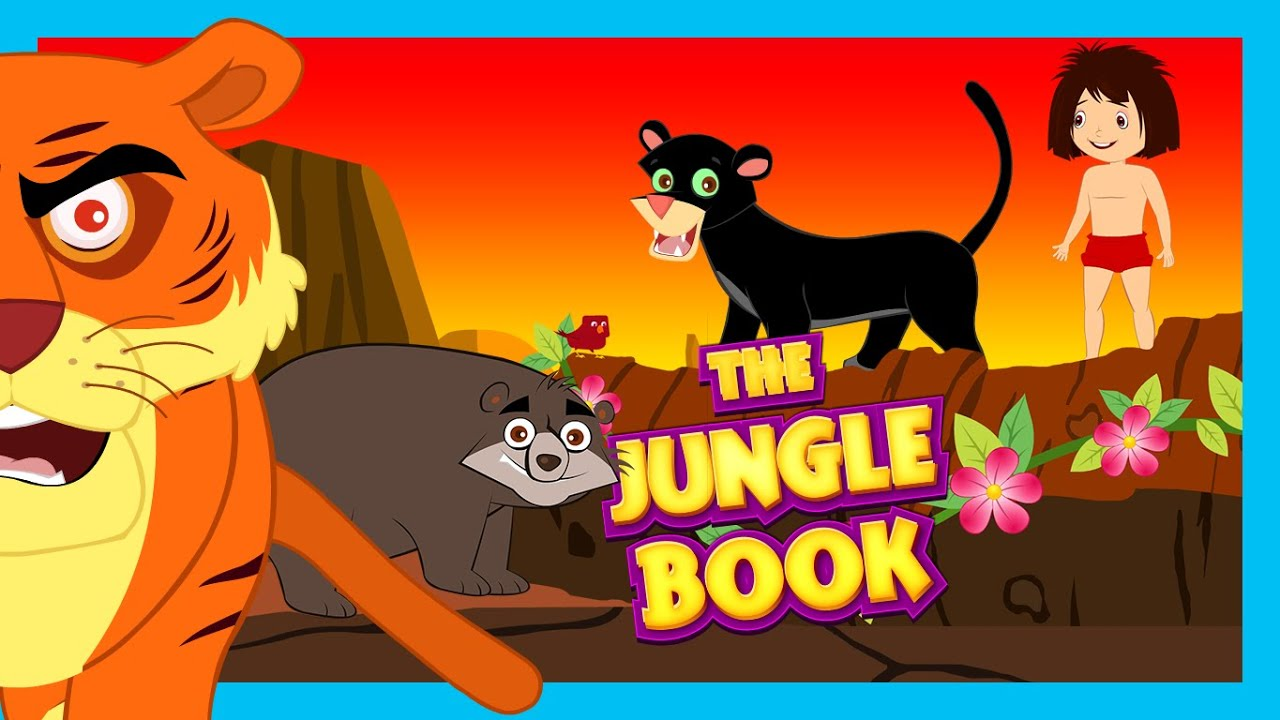 0ada9f2e956f The Jungle Book Kids Animation Story | Fairy Tales & Bedtime Story For Kids