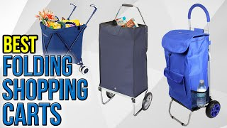 10 Best Folding Shopping Carts 2017