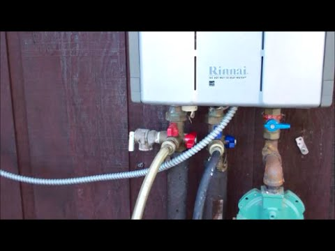 Maintaining A Tankless Water Heater ~ How To Flush It Out