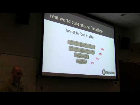 Startup Metrics Toronto April 2015 - Max Kremer of TrialFire