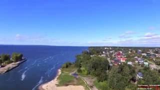 Аэросъемка Сокольское поселок Нижегородская область 09.2016 Full Hd