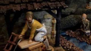 LeBlanc Family Bethlehem Nativity Scene --Pesebre Belen
