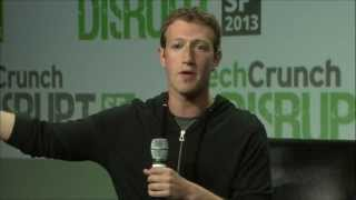 Mark Zuckerberg Says the Government Failed Us | Disrupt SF 2013