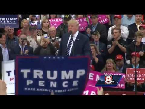 Uncut: Watch entire Donald Trump rally