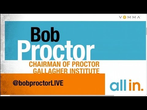 Chairman of Proctor Gallagher Institute Bob Proctor   Vemma All In 2014