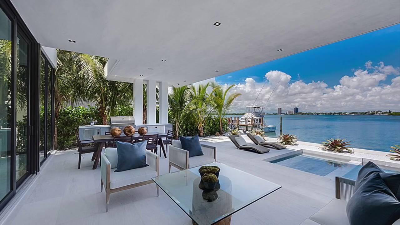 Vendre villa moderne 4 chambres north miami beach - Maison moderne de luxe a vendre ...
