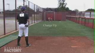 Spencer Cayten Knuckleball Pitching Showcase Under Armour Baseball Factory