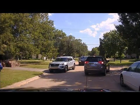 Stillwater, OK Police Chase - July 24th 2017