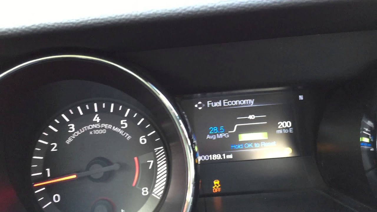 2017 Ecoboost Mustang Real World Fuel Economy Mpg